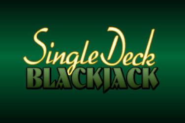 Single deck blackjack mobile