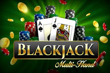 Blackjack multihand van iSoftbet