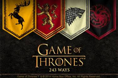 Game of thrones 243 ways gokkast