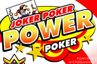 Joker poker 4 play power poker