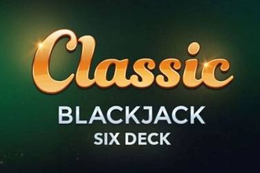 Multi hand classic 6 deck blackjack