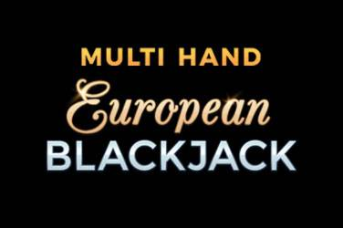 Multi hand european blackjack