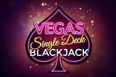 Multi hand vegas single deck blackjack