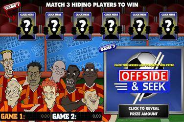 Offside and Seek Scratch Cards