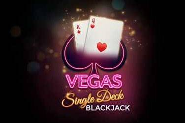 Vegas single deck blackjack van Microgaming
