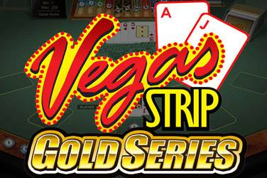 Vegas strip blackjack gold van Microgaming