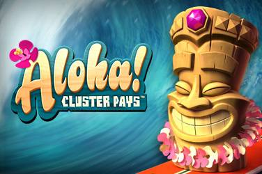Aloha Cluster Pays slot game