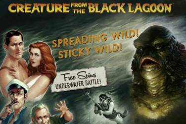 Play Creature From The Black Lagoon By Netent For Free