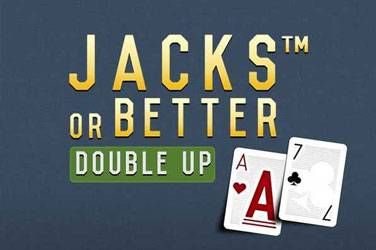 Jacks or better double up Netent