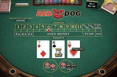 Play Red Dog By Netent For Free