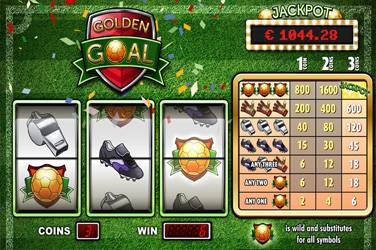 Play Golden Goal By Playngo For Free