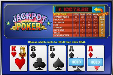 Jackpot poker Play n Go