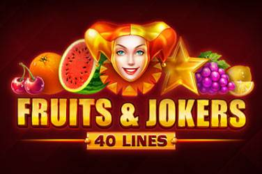 Fruits & jokers: 40 lines