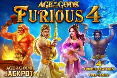 Age of the Gods Furious 4 slot game