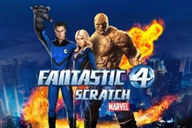 Fantastic Four Scratch - Playtech