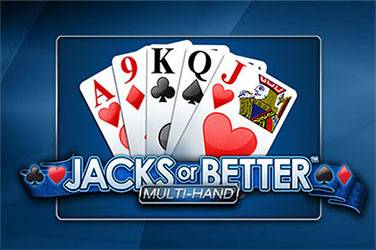 Poker Jacks or Better Multi hand