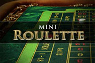 Play Mini Roulette By Playtech For Free