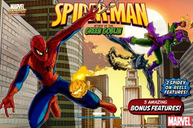Spider-man attack of the green goblin