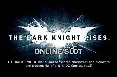 Play The Dark Knight Rises By Playtech For Free