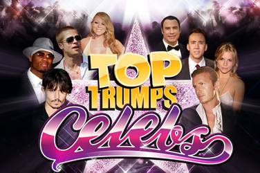 Play Top Trumps Celebs By Playtech For Free