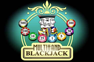 Multihand blackjack van Pragmatic Play