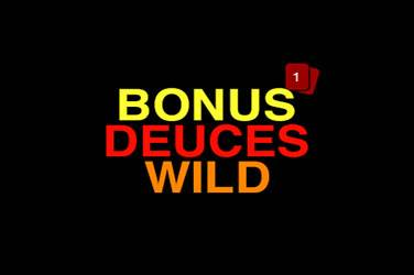 Play Bonus Deuces Wild By Rtg For Free
