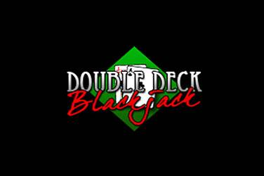Double deck blackjack van RTG