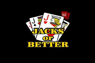 Jacks or better 52 ръце