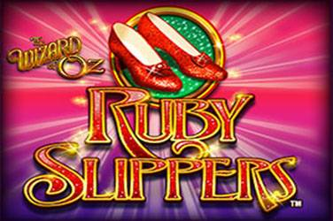 The wizard of oz ruby slippers Slot