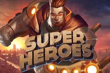 Super heroes slot game
